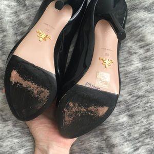 Prada Shoes - Prada peep-toe heels